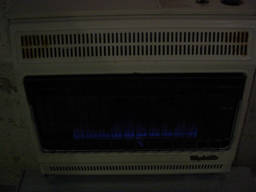 Heaters Torpedeo Blue Flame Convection