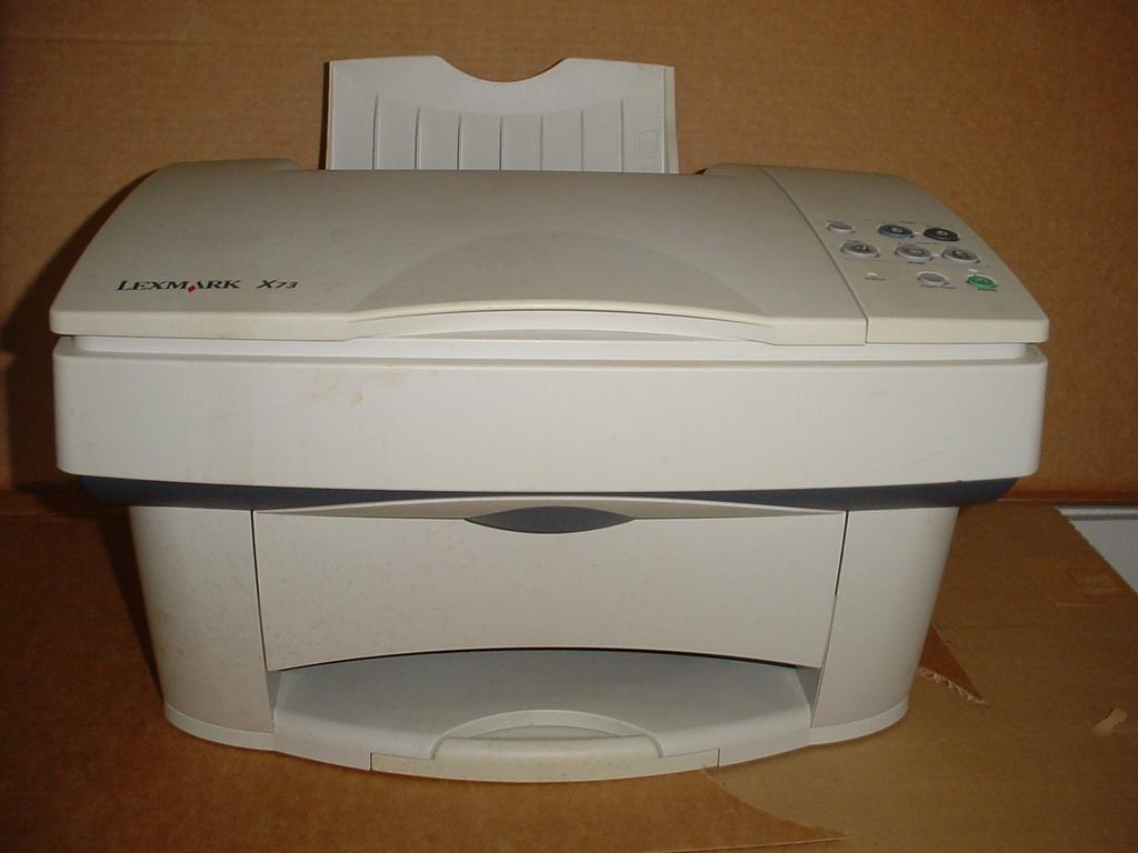 lexmark x73 printer driver