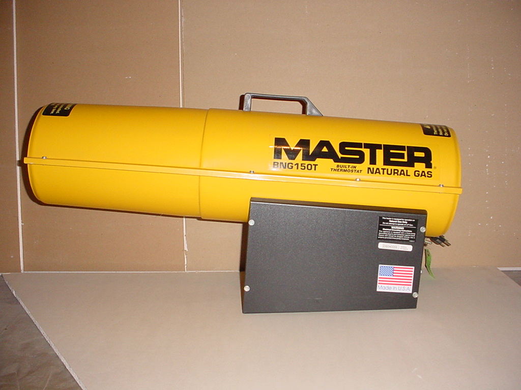 Master Natural Gas Torpedo Heater