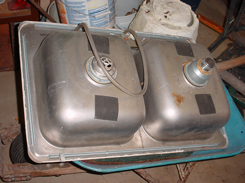 ... Stainless Steel Double Kitchen Sink 1