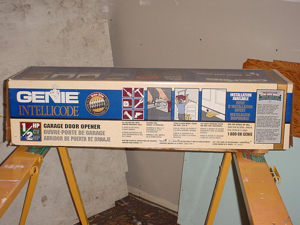 Genie Intellicode Garage Door Opener Screw Drive Model Isl950 2
